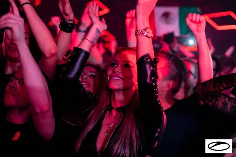 Fans enjoying at A State of Trance 950 London