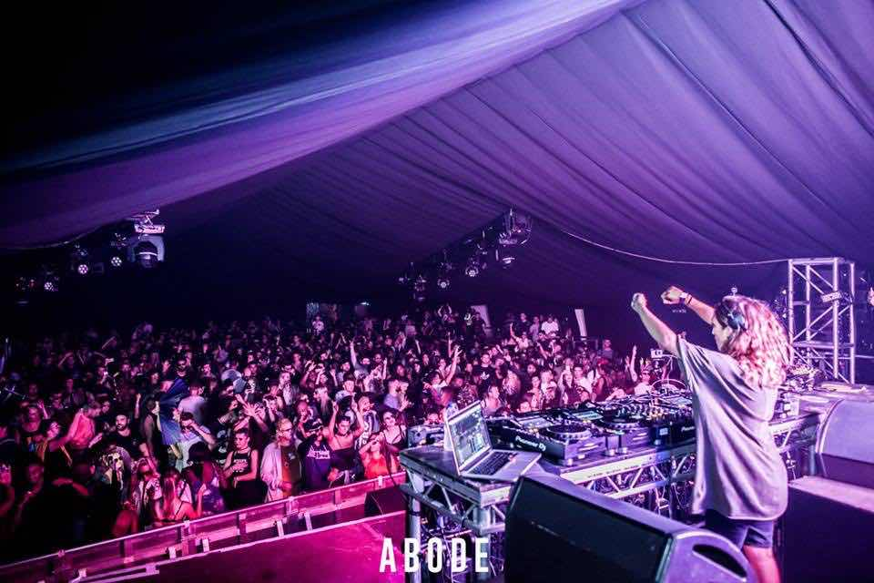 Performing at Abode in the Park Festival