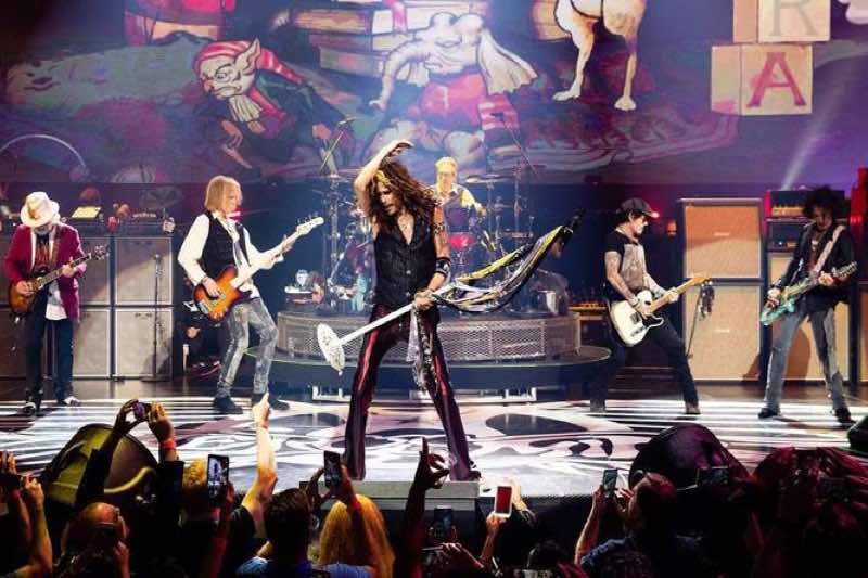 Aerosmith European Tour Concert Tickets