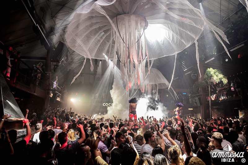 Jellyfish at Amnesia Ibiza