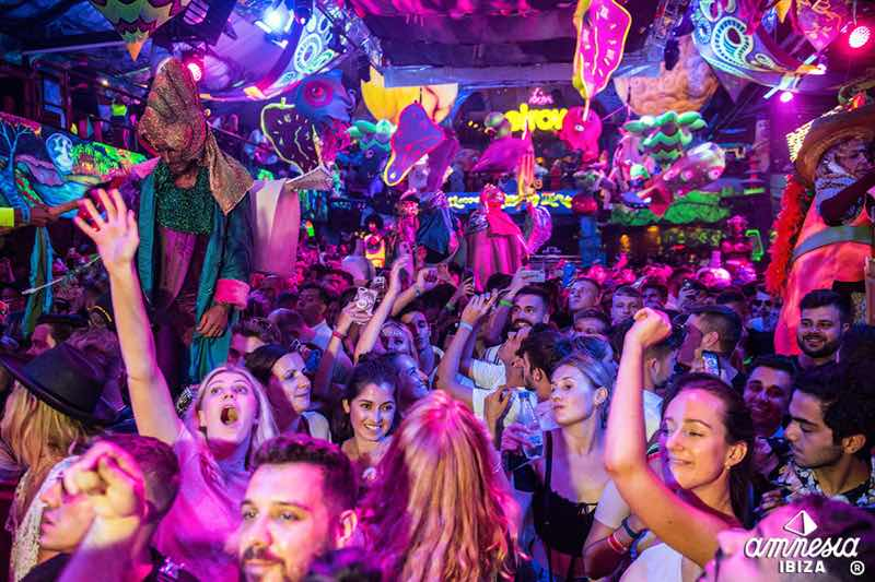 Elrow Nowmads new world in Amnesia Ibiza