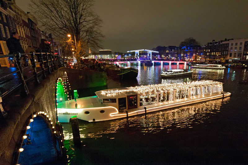 Best Christmas Destinations Amsterdam Christmas Boat