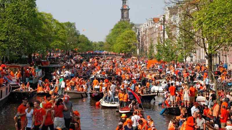 Kings Day Canal Party in Amsterdam travel guide