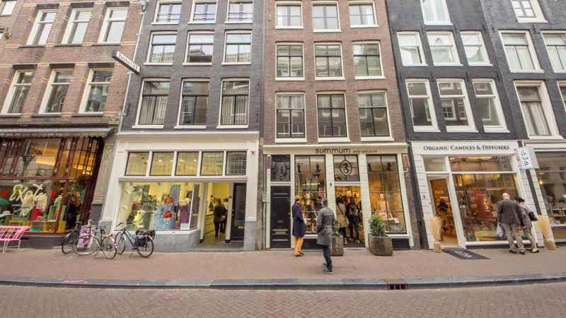 Shopping Street in Amsterdam travel guide