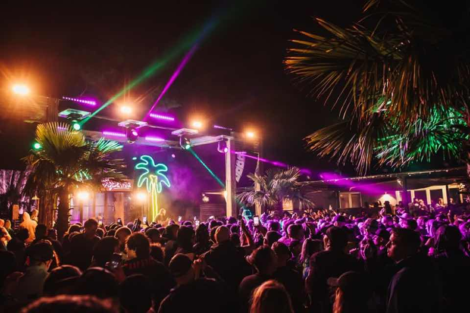 Lights at stage at Annie Mac Presents Lost and Found Festival