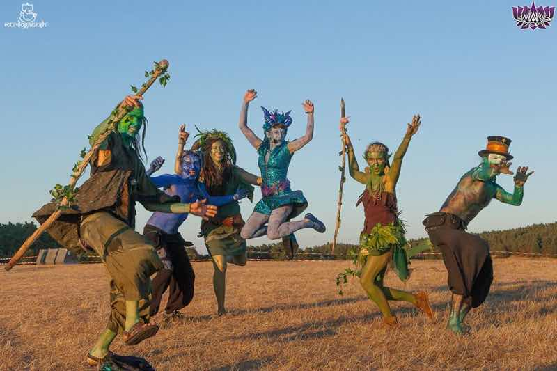 Elf outfits at Antaris Project Festival