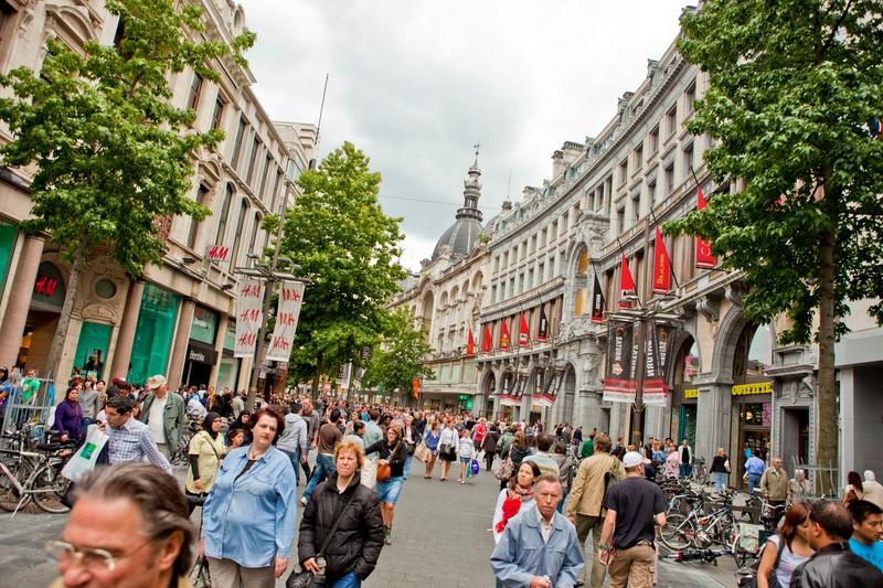 Meir Shopping street in Antwerp Travel Guide