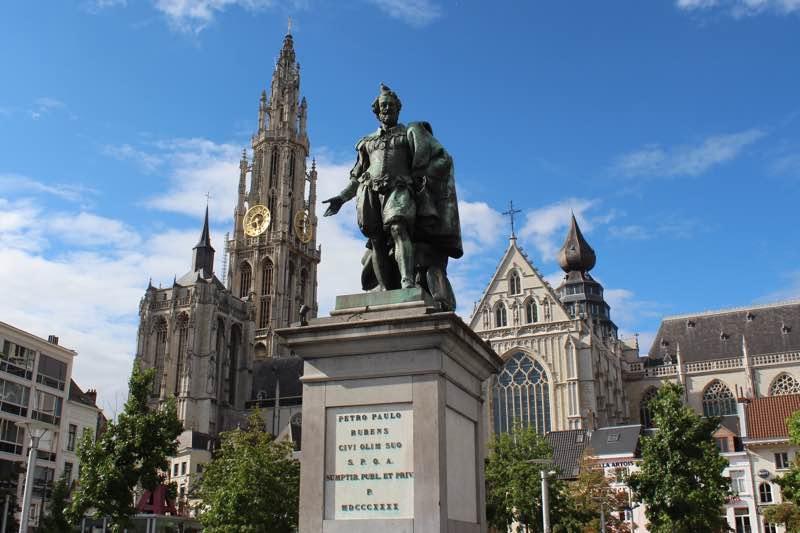 Pieter Paul Rubens Statue in Antwerp Travel Guide