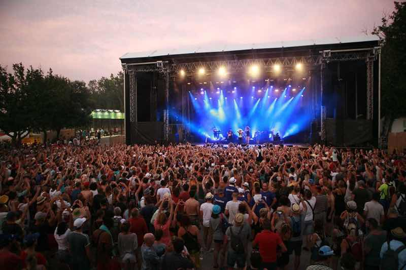 Etoile stage at Ardeche Aluna Festival