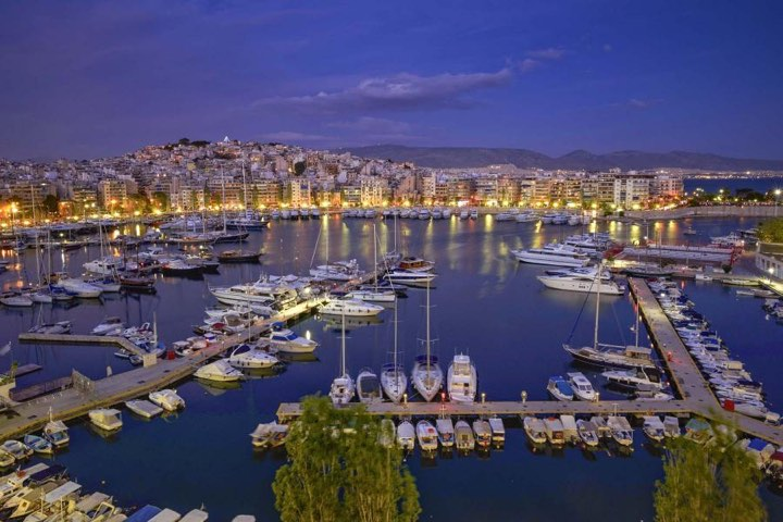 Athens Piraeus Marina Sea