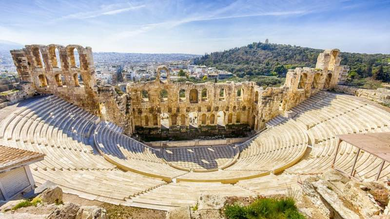 The Odeon of Herodus Atticus Ancient Theatre in Athens Travel Guide