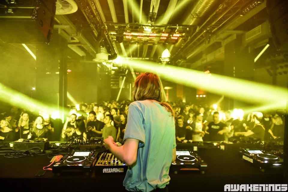 Mixing at Awakenings Eindhoven Festival