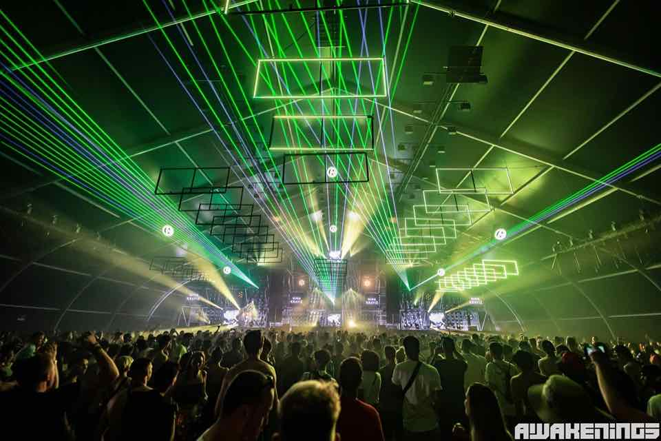 Awakenings best house music festivals in Europe