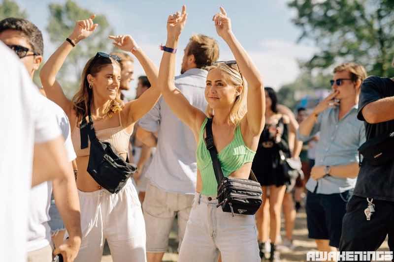 Fans enjoying at Awakenings Summer Specials