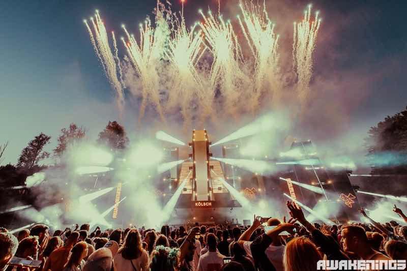 Fireworks at Awakenings Summer Specials