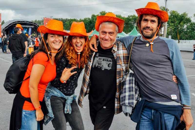 Fans enjoying at Azkena Rock Festival