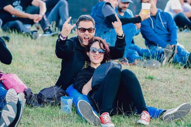 Fans at Azkena Rock Festival
