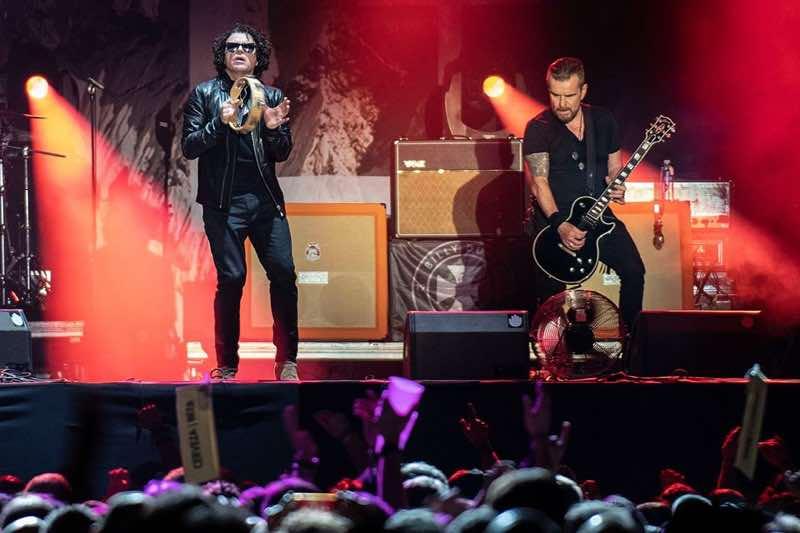 The Cult performing at Azkena Rock Festival