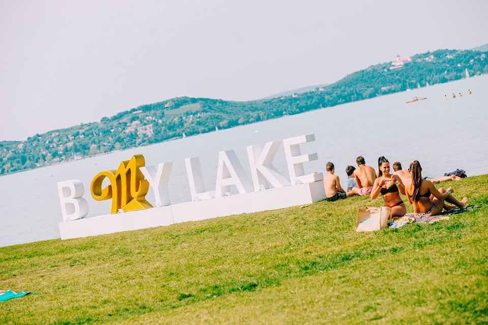 Lake view at B my Lake Festival