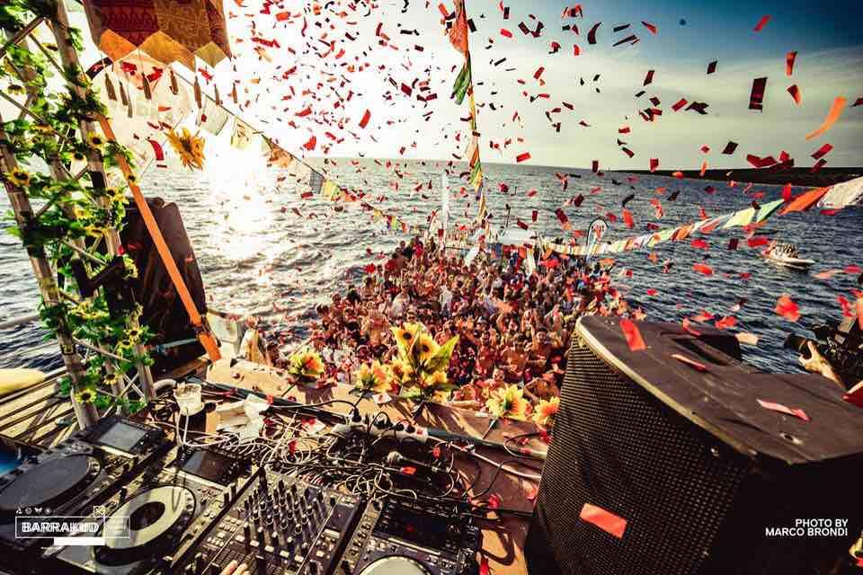 Boat party at Barrakud Croatia Festival