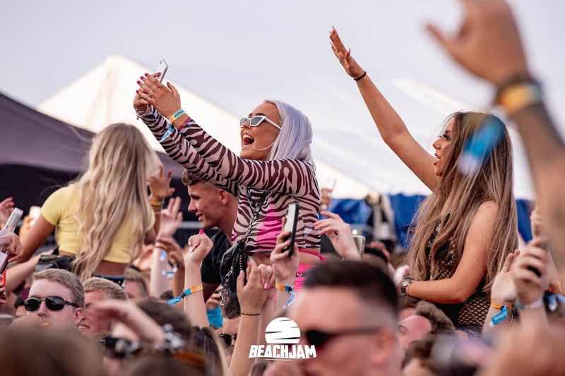 Fans excited at Beachjam Festival