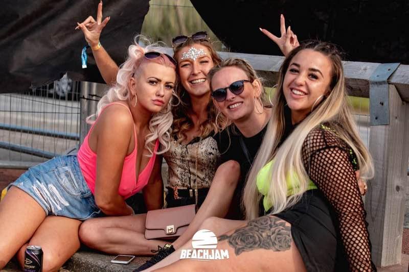 Fans at Beachjam Festival