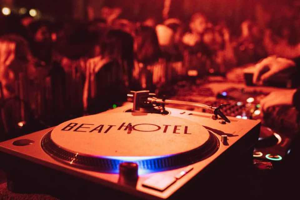 Mixing at Beat Hotel Marrakech Festival