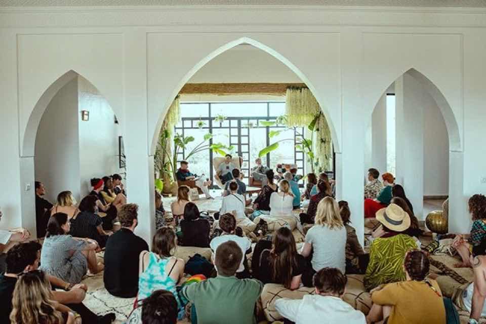 Workshop at Beat Hotel Marrakech