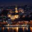 River city lights view in Belgrade