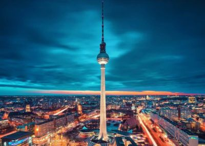 Berlin Tower City View