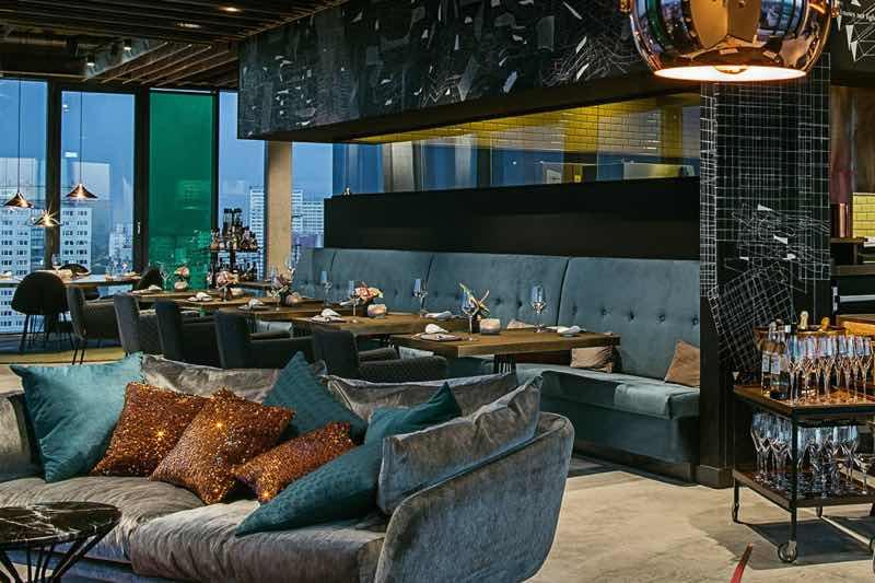 Skyline Restaurant in Berlin Travel Guide