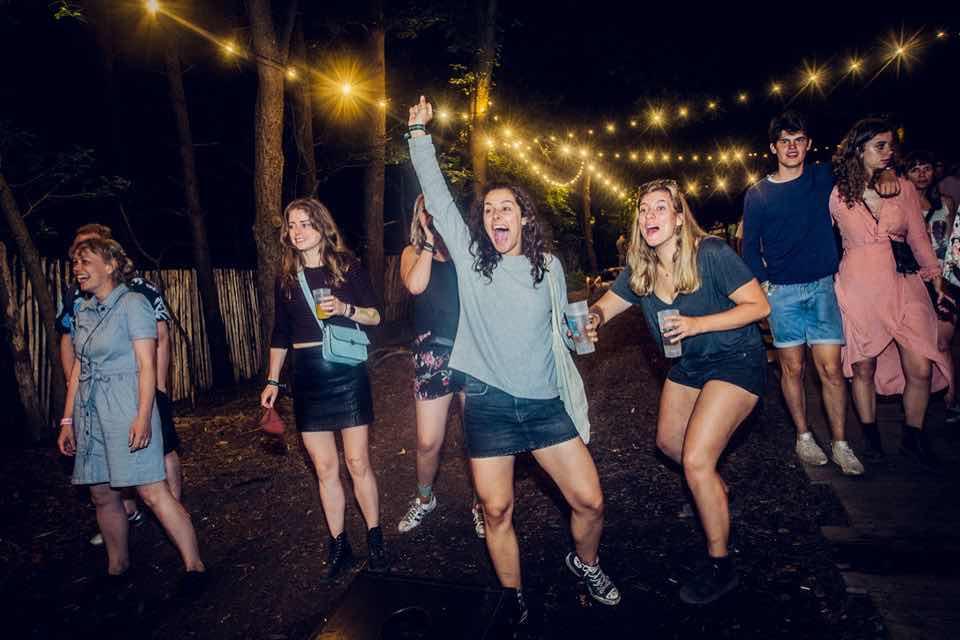 Happy fans at Best Kept Secret Festival