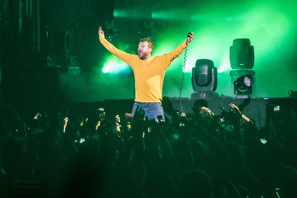 Gorillaz live main stage at bilbao bbk live festival