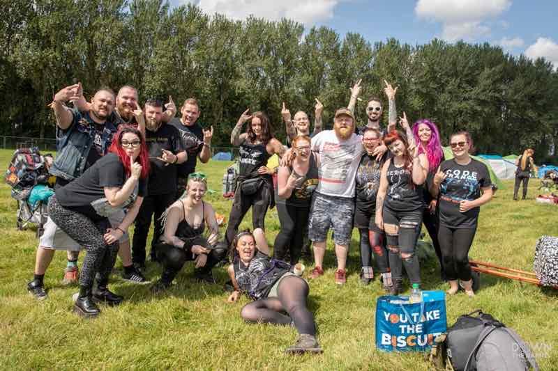 Fans enjoying at Bloodstock Open Air Festival