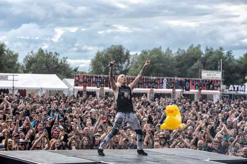 Performing at Bloodstock Open Air Festival