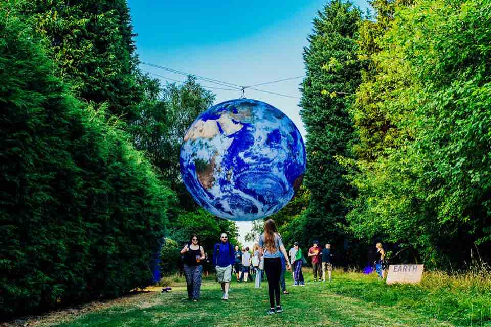 Planet Earth at Bluedot Festival