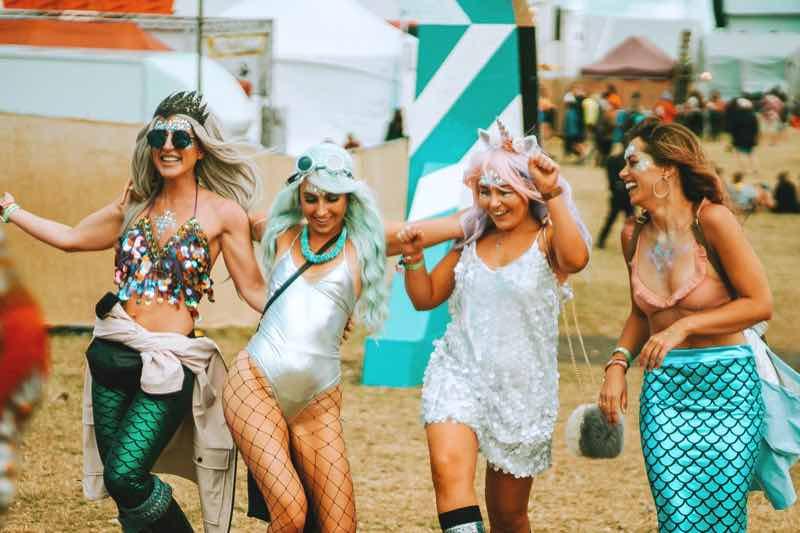 Mermaids at Boardmasters Festivals