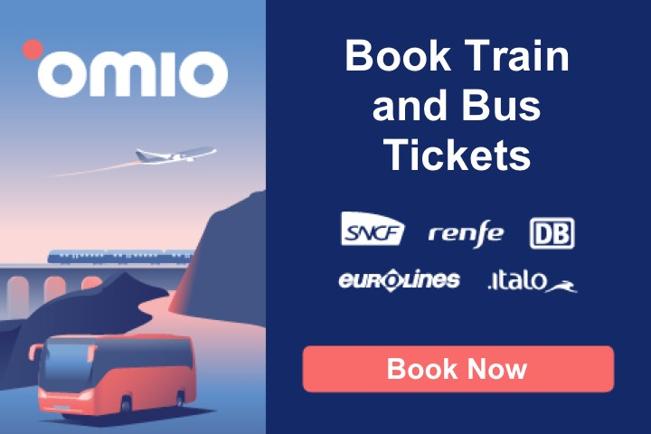 Book trains and buses tickets