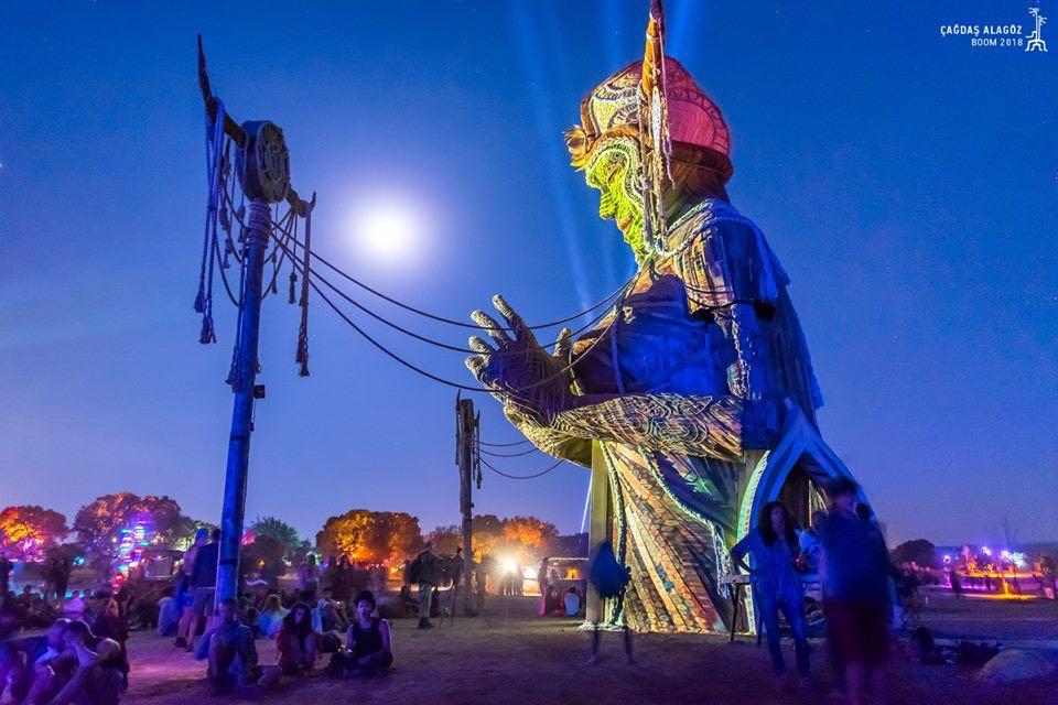 Totem view at boom festival
