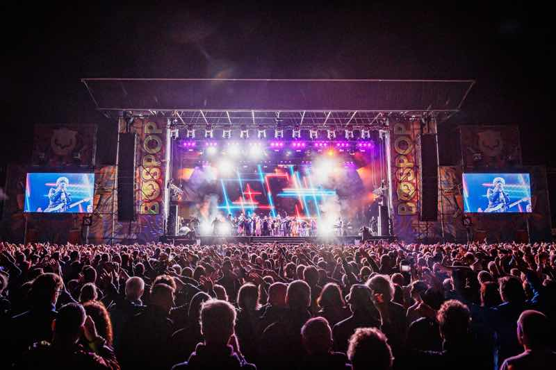 Main stage at Bospop Festival