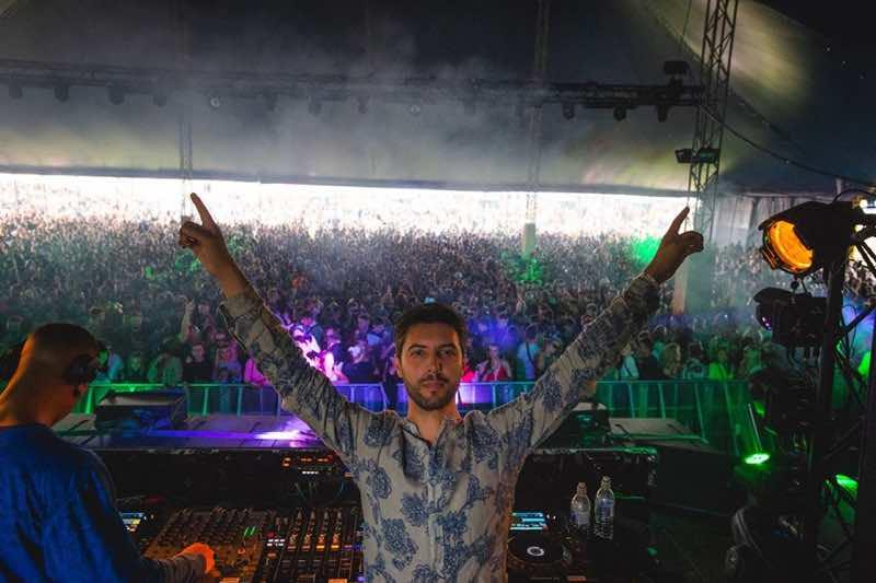 Performing at Boundary Festival Brighton