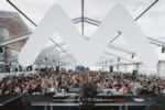 White MDRNTY stage at Caprices Festival