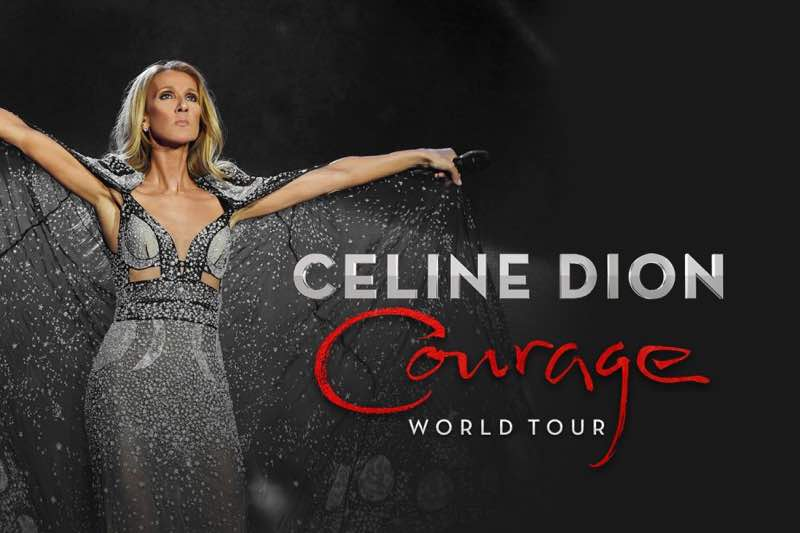 Celine Dion Concert Courage World Tour