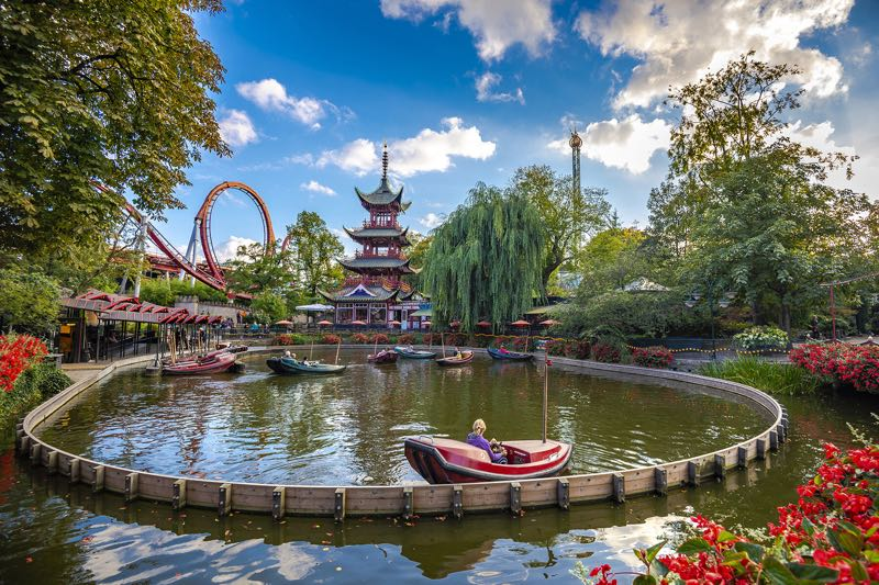 Tivoli Gardens in Copenhagen Travel Guide