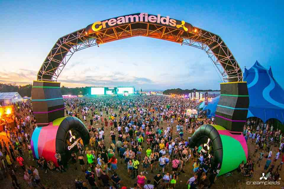 Creamfields best edm festivals in Europe