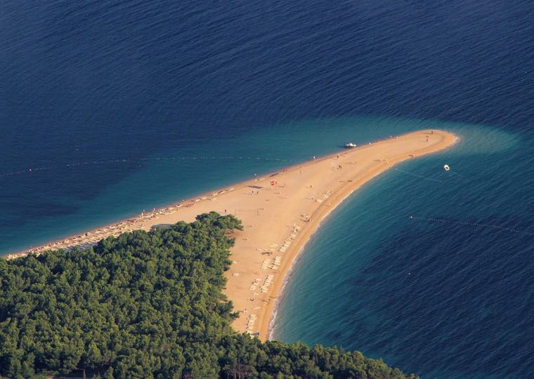 Golden Cape in Bol in Croatia