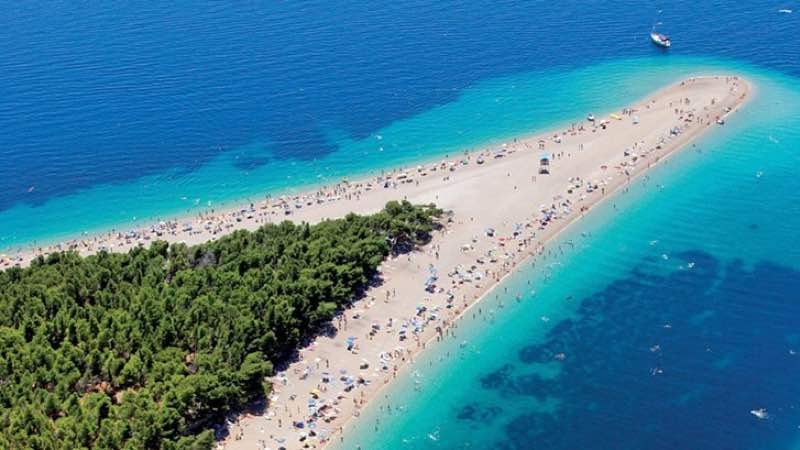 golden cape bol croatia amazing beach destinations