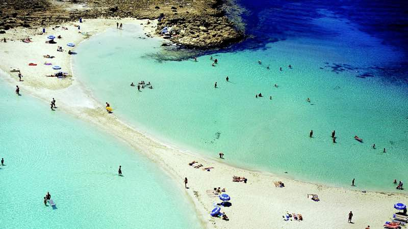Nissi Beach in Ayia Napa Cyprus amazing beach destinations