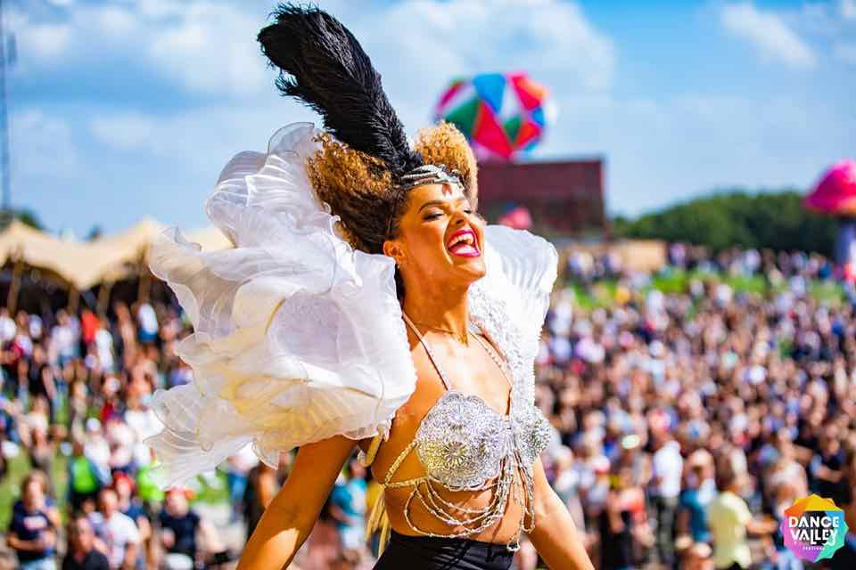 Amazing outfit at Dance Valley Festival