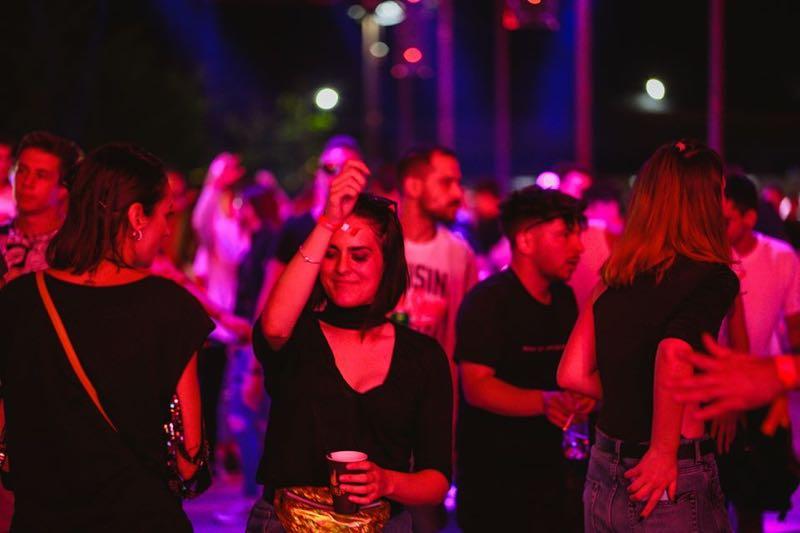 Beauty dancing at Dava Festival